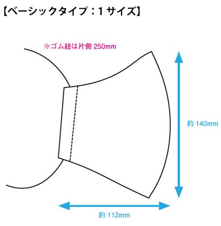 ベーシックサイズ図